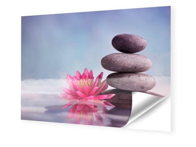 Wellness Bild Fotos auf Folie im Format 90 x 60 cm