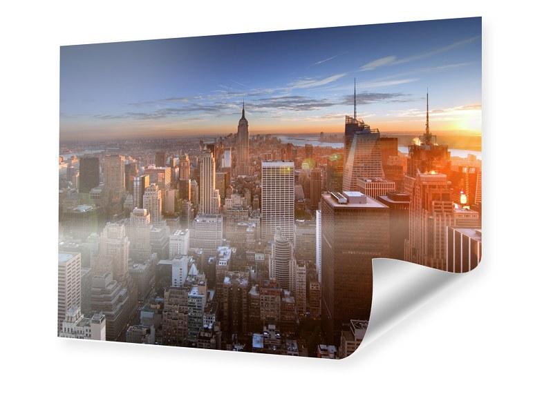 Manhattan Skyline Fotoposter im Format 120 x 80 cm