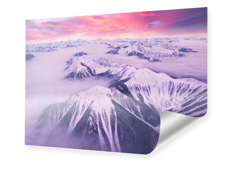 Rocky Mountains Foto Fotoposter im Format 180 x...