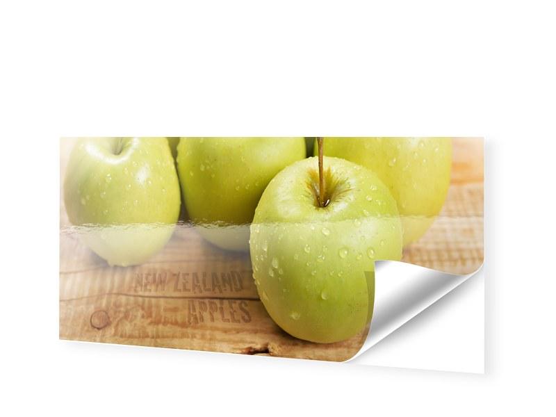 Äpfel Bild Fotofolie als Panorama im Format 50 ...