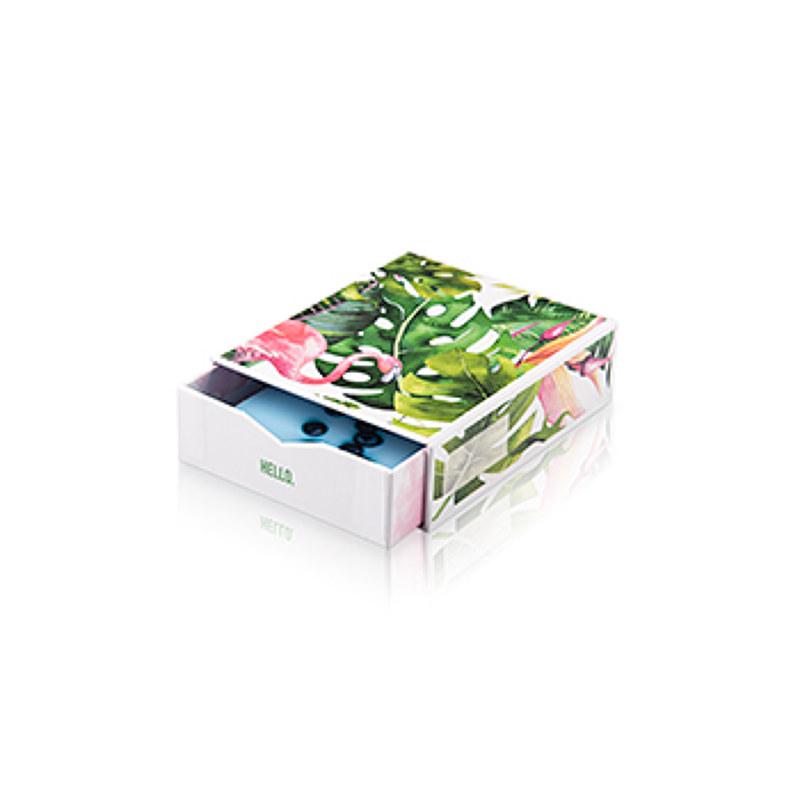 """Bilderbox """"Flamingo´´ mit 50 Hahnemühle Fotos"""