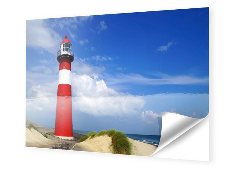Leuchtturm Poster Fotofolie im Format 60 x 45 cm