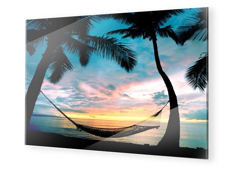 Bild Hängematte Acrylglasbilder XXL im Format 120 x 90 cm | Garten > Hängematten | myposter
