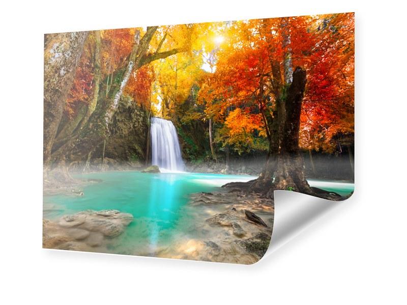 Wasserfall Landschaft Poster im Format 75 x 50 cm   Dekoration > Bilder und Rahmen > Poster   myposter